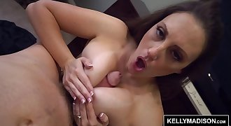 Melanie Hicks Works Her Big Butt To Get Ryan Madison Off