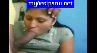 Mumbai office lady sneha sucking and giving blowjob to her boss