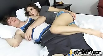 Sleep fucking stepmom DVD 1