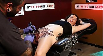 MISS MARIE PUSSY TATTOO DAY 1